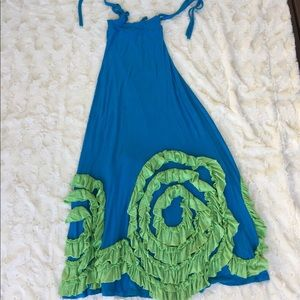 Other - Chasing fireflies blue and green dress
